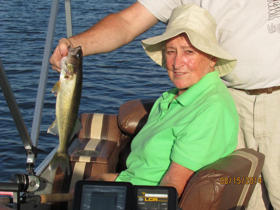 Fishing on Lake Gogebic